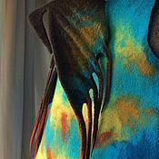 """Одежда ручной работы. Ярмарка Мастеров - ручная работа Жилет из шерсти """"Громгильда"""" детский. Handmade."""