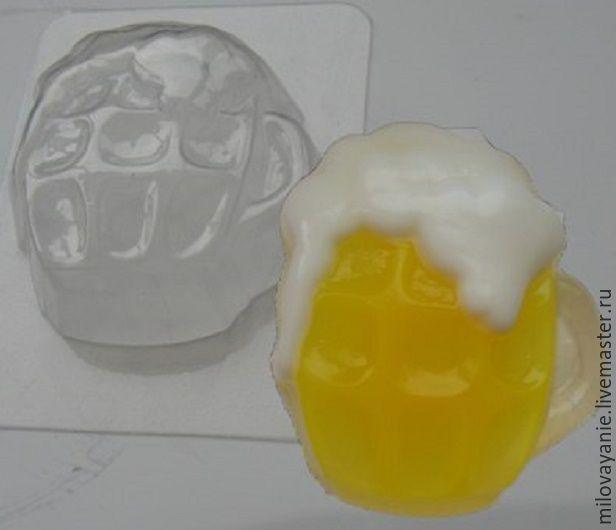 Купить Формы к пенному мыльному набору, Россия. - пластиковая форма, форма креветка, форма креветки