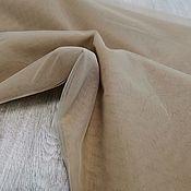 Ткани ручной работы. Ярмарка Мастеров - ручная работа Санал сетка с эффектом голого тела бежевая или молочная. Handmade.