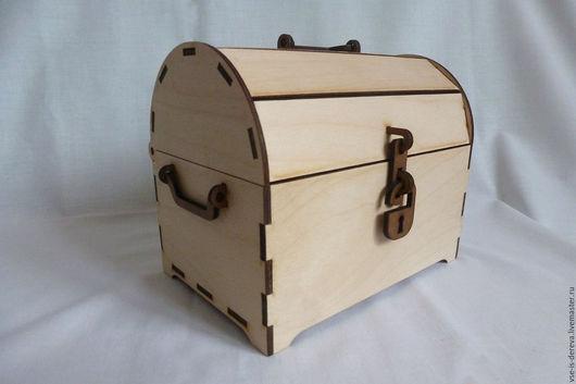 Подарочная упаковка ручной работы. Ярмарка Мастеров - ручная работа. Купить Сундучок. Handmade. Сундучок деревянный, шкатулка-сундучок