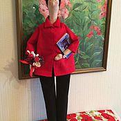 """Куклы и игрушки ручной работы. Ярмарка Мастеров - ручная работа Портретная кукла """"Учительница """" Тильда. Handmade."""