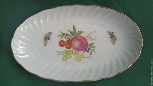 Кухня ручной работы. Ярмарка Мастеров - ручная работа. Купить Красивая тарелочка, Германия. Handmade. Комбинированный, фарфор