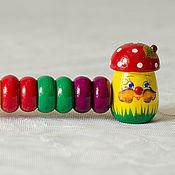 Куклы и игрушки handmade. Livemaster - original item Wooden abacus for children. Handmade.