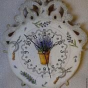 """Для дома и интерьера ручной работы. Ярмарка Мастеров - ручная работа часы """"Прованс"""". Handmade."""