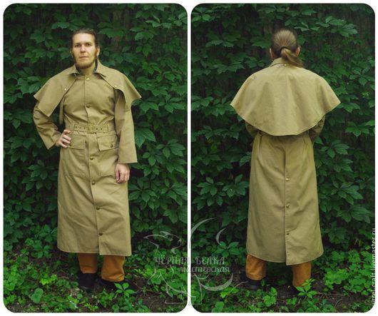 Верхняя одежда ручной работы. Ярмарка Мастеров - ручная работа. Купить Дастер (плащ-пыльник), модель Sharper. Handmade. Дастер