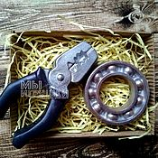 Косметика ручной работы handmade. Livemaster - original item Men`s set of Pliers and bearing handmade soap. Handmade.