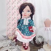 Куклы и игрушки ручной работы. Ярмарка Мастеров - ручная работа Кукла текстильная Наташа авторская кукла интерьерная. Handmade.
