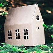 Материалы для творчества handmade. Livemaster - original item Packaging: Box - cabin gift packing (size large).. Handmade.