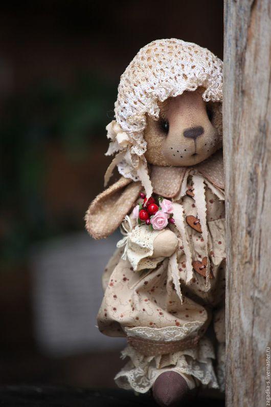 Ароматизированные куклы ручной работы. Ярмарка Мастеров - ручная работа. Купить Зайка карамелька.. Handmade. Бежевый, пасхальный сувенир