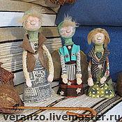 Куклы и игрушки ручной работы. Ярмарка Мастеров - ручная работа СЕСТРЫ ПРОНЬКИНЫ папье-маше. Handmade.