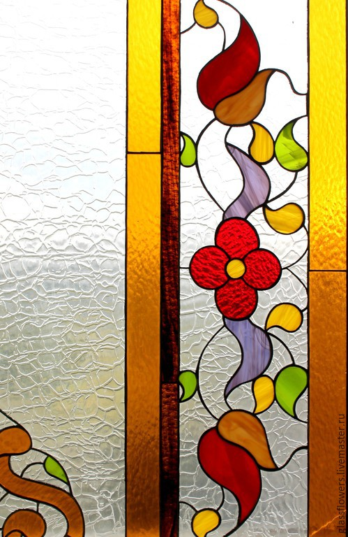 Summer lll. Interior stained glass Tiffany, Stained glass, St. Petersburg,  Фото №1