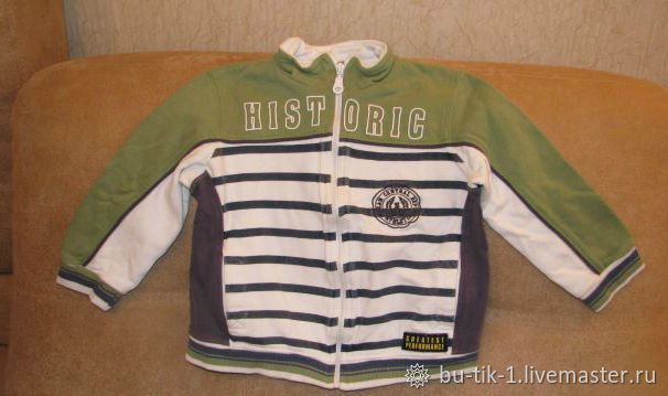 Jacket for boy with zipper Kanz size 98, Vintage clothing, Moscow,  Фото №1