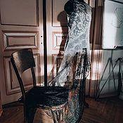 """Платья ручной работы. Ярмарка Мастеров - ручная работа Кружевное платье  """" Асиметрия"""". Нежно-серого цвета. Handmade."""