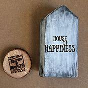 Для дома и интерьера ручной работы. Ярмарка Мастеров - ручная работа Интерьерный сканди домик.. Handmade.