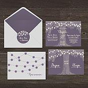 Свадебный салон ручной работы. Ярмарка Мастеров - ручная работа Приглашение на свадьбу, пригласительный. Handmade.