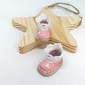 Одежда для кукол ручной работы. Ярмарка Мастеров - ручная работа Обувь для куклы. Ботиночки для Блайз. Handmade.