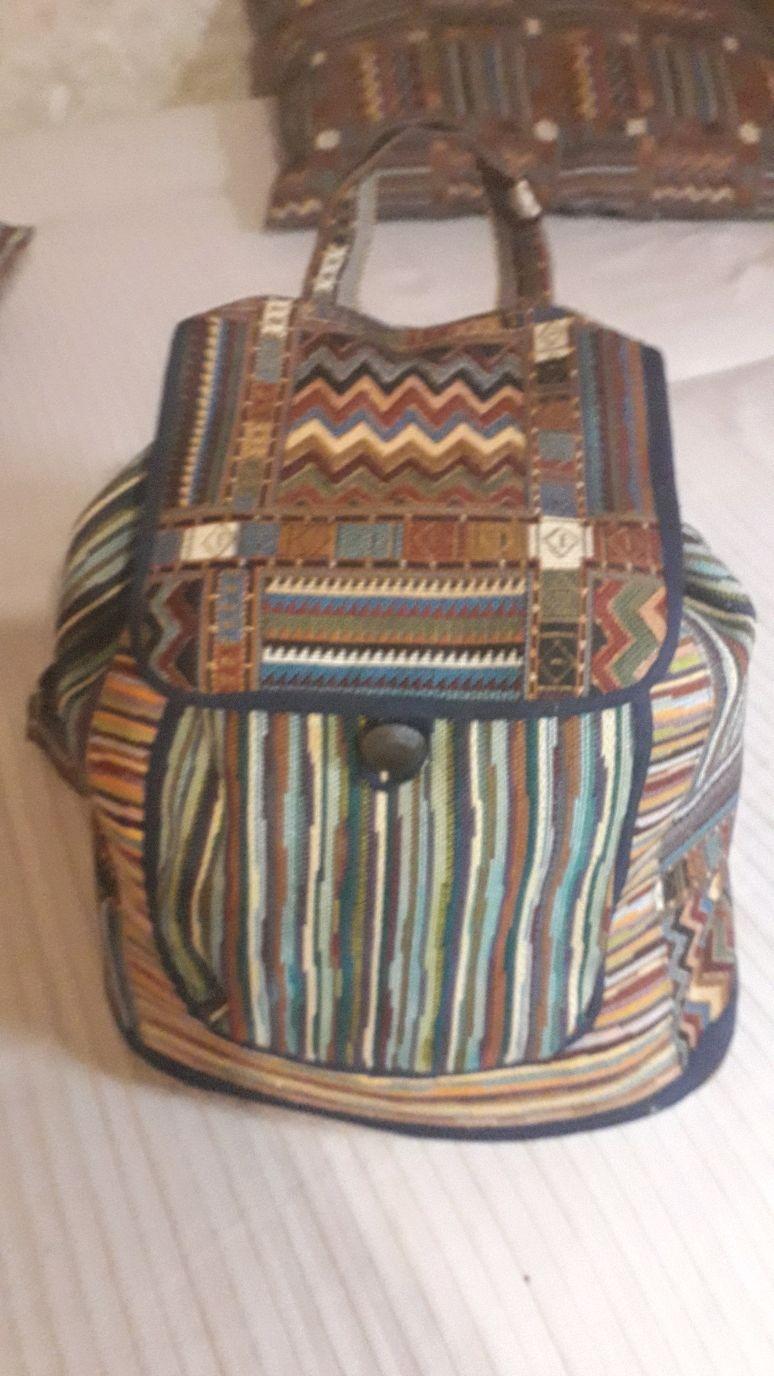 Рюкзак из гобелена, Рюкзаки, Москва,  Фото №1