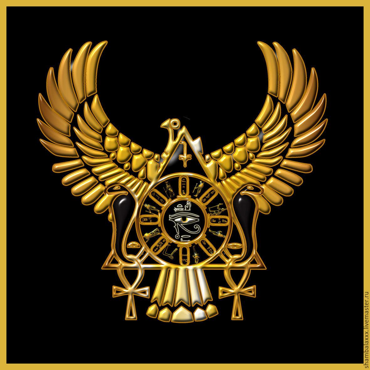 Altar tablecloth 'MAGIC of EGYPT', Atlas-Satnam, Ritual attributes, Asha,  Фото №1