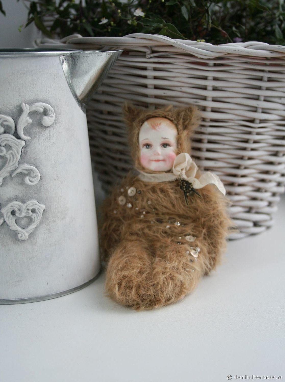 Кукла текстильная куколка интерьерная кукла в подарок Милая Зая, Тедди Долл, Тула,  Фото №1