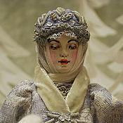 """Куклы и игрушки ручной работы. Ярмарка Мастеров - ручная работа Авторская кукла """"Снегурочка.Морозные сумерки"""".. Handmade."""