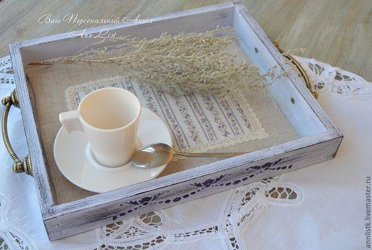 """Кухня ручной работы. Ярмарка Мастеров - ручная работа. Купить """"Завтрак с видом на Прованс"""" набор. Handmade. Прованс, Декупаж"""