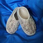 """Обувь ручной работы. Ярмарка Мастеров - ручная работа Тапочки валяные """"Лапоточки"""". Handmade."""