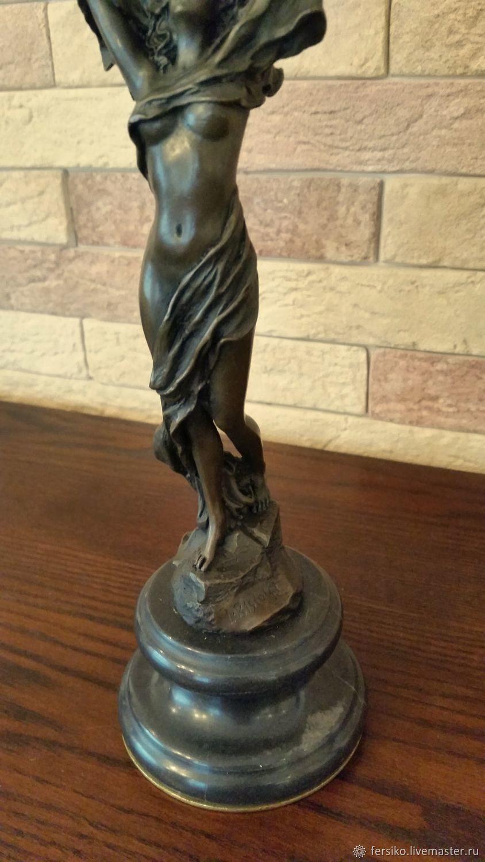 Винтаж: БРОНЗА!!! Шикарнейшая скульптура на мраморе, Винтажные предметы интерьера, Ессентуки, Фото №1