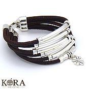 Украшения handmade. Livemaster - original item Bracelet made of Portuguese cork clover handmade B0082. Handmade.