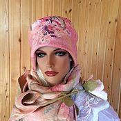 """Аксессуары handmade. Livemaster - original item Felted hat """"spring and autumn """". Handmade."""