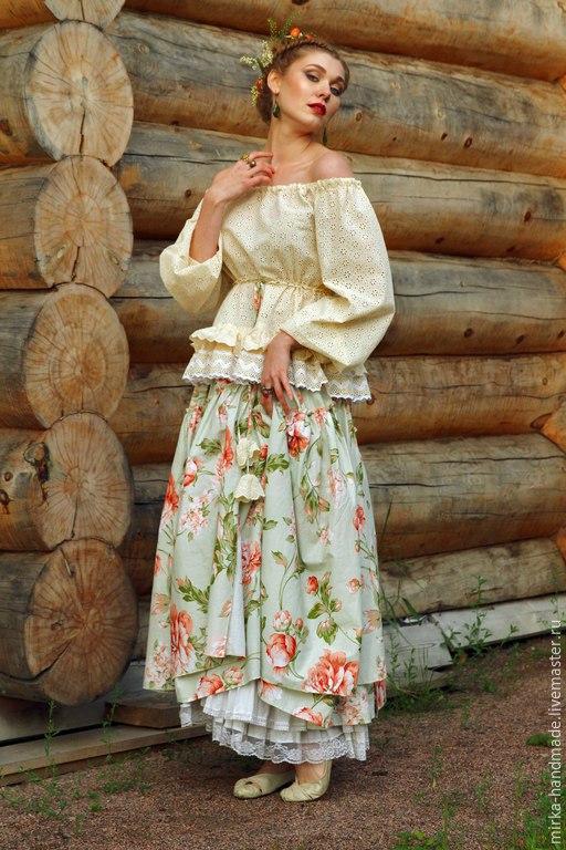 Блузки в стиле бохо купить