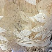 Для дома и интерьера handmade. Livemaster - original item Curtain noodles jacquard muslin. Handmade.