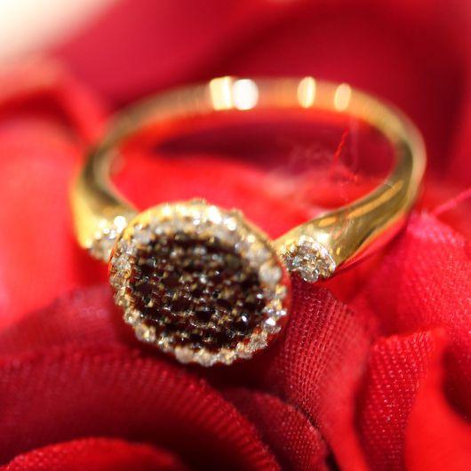 Кольца ручной работы. Ярмарка Мастеров - ручная работа. Купить Кольцо из золота 585 пробы. Handmade. Кольцо из золота