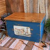 """Большой деревянный короб с крышкой """"Chadlington"""""""