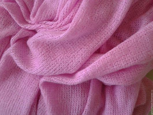 """Шитье ручной работы. Ярмарка Мастеров - ручная работа. Купить Ткань вязаная  розовая """"Pink"""". Handmade. Розовый, вязаная шерсть"""