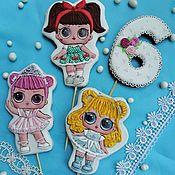 Сувениры и подарки handmade. Livemaster - original item Gingerbread Doll . gingerbread birthday. Gingerbread for girls. Handmade.