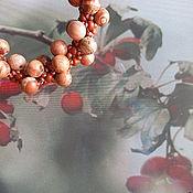 Украшения ручной работы. Ярмарка Мастеров - ручная работа Комплект Поздняя ягодка. Handmade.