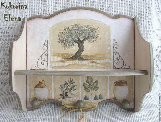 Пример декора полочки -мастер Кокорина Елена
