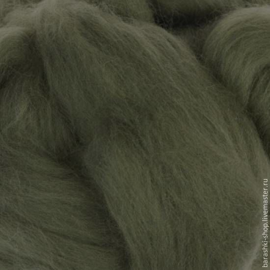 Merino 18 µm Moss 50 gr, Wool, Moscow,  Фото №1