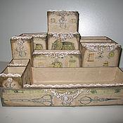 Для дома и интерьера ручной работы. Ярмарка Мастеров - ручная работа Органайзер для ркукодельницы. Handmade.