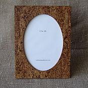 Сувениры и подарки manualidades. Livemaster - hecho a mano Marco de fotos de abedul de carelia 13h18h. Handmade.