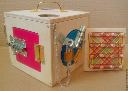 Развивающие игрушки ручной работы. Ярмарка Мастеров - ручная работа. Купить БИЗИБОРД+геоборд. Handmade. Бизиборд, бизиборды, бизиборд на заказ