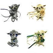 Украшения handmade. Livemaster - original item Cat brooches. Handmade.
