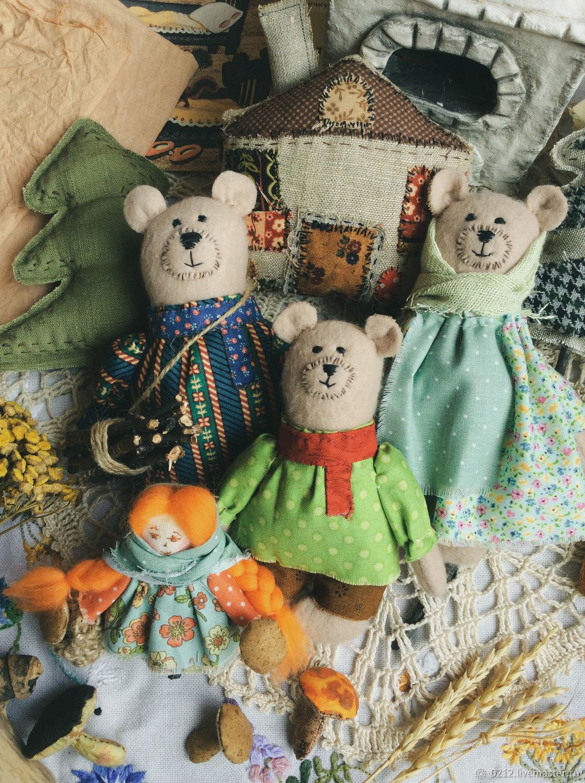 Три медведя, Кукольный театр, Тюмень,  Фото №1