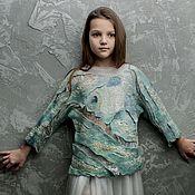"Одежда ручной работы. Ярмарка Мастеров - ручная работа Блуза ""Рыба моя!"":). Handmade."