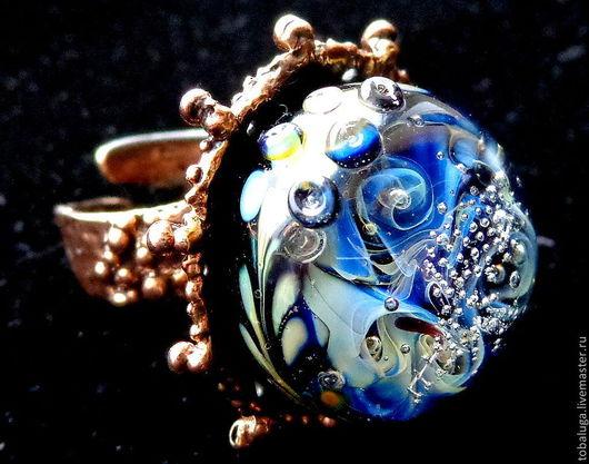 Кольца ручной работы. Ярмарка Мастеров - ручная работа. Купить Кольцо Серебряный дождь. Handmade. Кольцо ручной работы, разноцветный