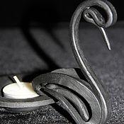 Для дома и интерьера ручной работы. Ярмарка Мастеров - ручная работа Подсвечник Лебедь. Handmade.