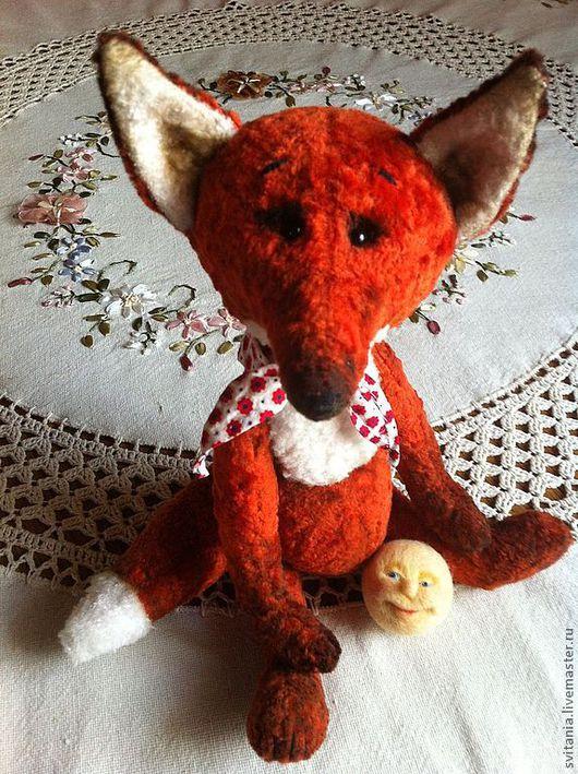 Мишки Тедди ручной работы. Ярмарка Мастеров - ручная работа. Купить Лиса и Колобок. Handmade. Лисичка, игрушка лиса