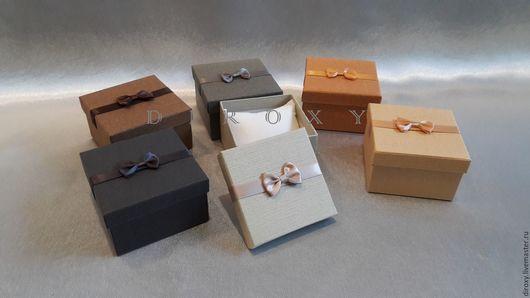 Упаковка ручной работы. Ярмарка Мастеров - ручная работа. Купить 9х9хh5,5 Коробочка для подарка / украшений / часов. Handmade.
