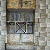 Для дома и интерьера ручной работы. Ярмарка Мастеров - ручная работа Большой буфет-бар, винный шкаф. Handmade.