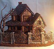 """Сувениры и подарки ручной работы. Ярмарка Мастеров - ручная работа миниатюра """"Дом с призраками"""". Handmade."""
